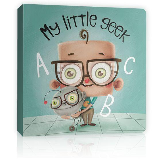 awww. My Little Geek ABC book!