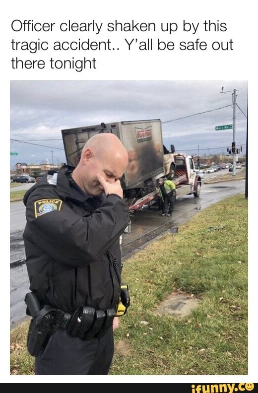 Officer Clearly Shaken Up By This Tragic Accident