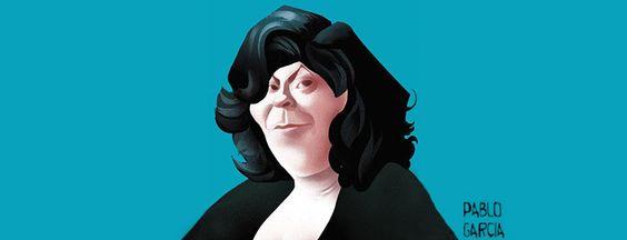De Ana María Matute a Gabriela Mistral, te mostramos las mejores caricaturas de escritoras.