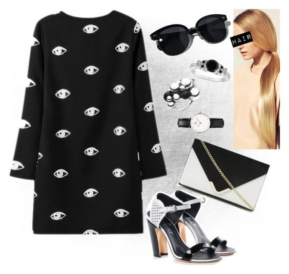 """""""eyes"""" by swagwhitglamour ❤ liked on Polyvore"""