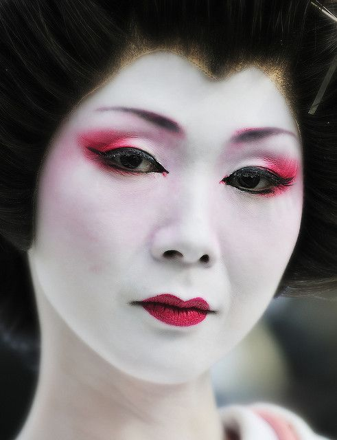 Super Oltre 25 fantastiche idee su Trucco giapponese per Carnevale su  HJ29