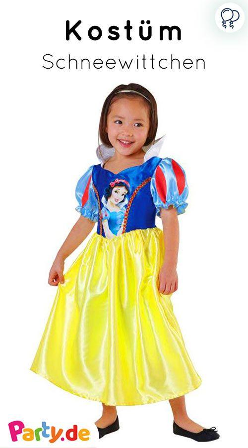 Schones Schneewittchen Kinderkostum Fur Eine Prinzessinnen Party