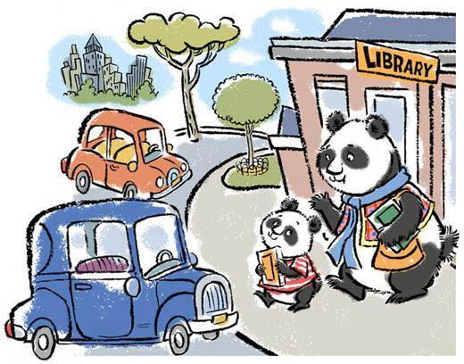 John Nez Illustration - Peter Panda Melts Down!