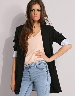 Helene Berman Long Boyfriend Blazer | Clothes (to buy) | Pinterest ...