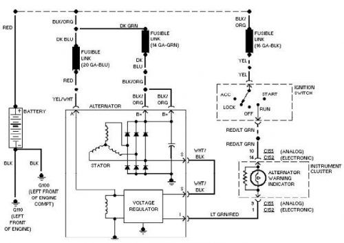 ford wiring diagrams electrical schematics circuit