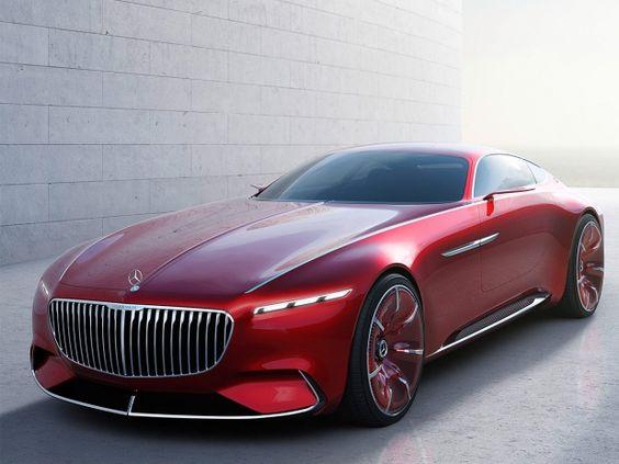 In Pebble Beach 2016 wird der Vision Mercedes-Maybach 6 wird präsentiert.