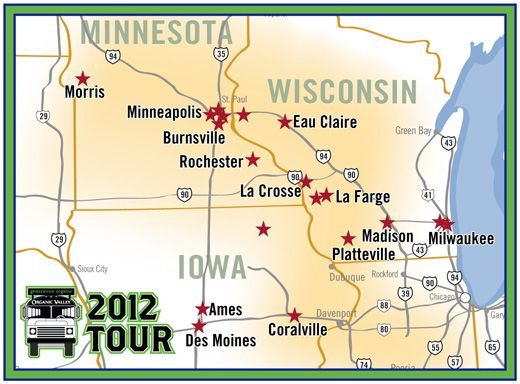 Generation Organic 2012 Tour - Who's Your Farmer?