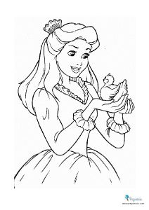 Dibujos Para Pintar Y Colorear Faciles Mas De 100 Pequeocio Princesas Para Colorear Dibujos Para Colorear Gratis Paginas Para Colorear De Animales