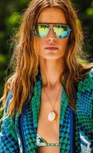 Ray Ban Green And Blue