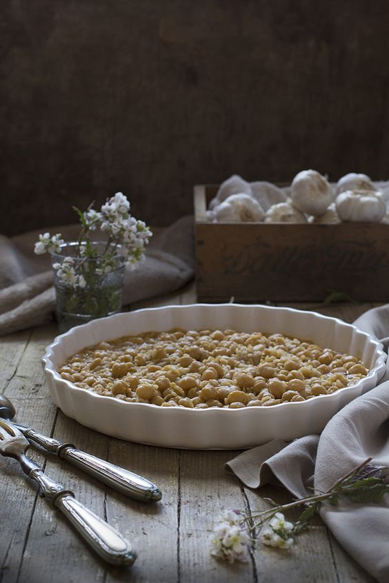 Garbanzos con arroz y sofrito de pimentón | Claudia&Julia