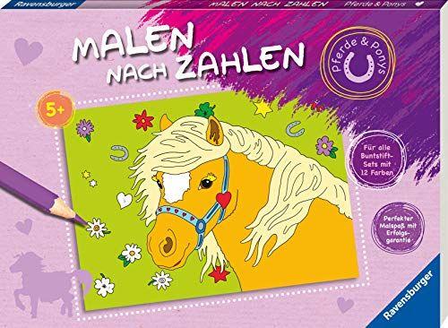 Malen Nach Zahlen Pferde Und Ponys Zahlen Nach Malen Ponys Malen Nach Zahlen Malen Nach Zahlen Pferde Buntstifte Set