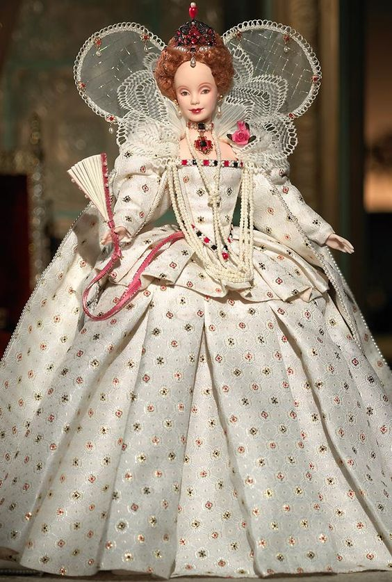 I played with Barbies, so I certainly wouldn't steer my future daughter away from playing with Barbies because of my feminist views. But I would MUCH rather steer her toward playing with Queen Elizabeth I in Barbie form than with Malibu Barbie.