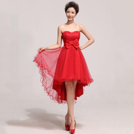 robe de mariée courte bustier en forme de coeur et à devant courte arrière longue en dentelle soluble dans l'eau   http://www.robesdemariee2013.com/soiree/robe-de-mari%C3%A9e-courte-bustier-en-forme-de-coeur-et-%C3%A0-devant-courte-arri%C3%A8re-longue-en-dentelle-soluble-dans-leau-p-33562.htm#.VIqnDSuUfbk