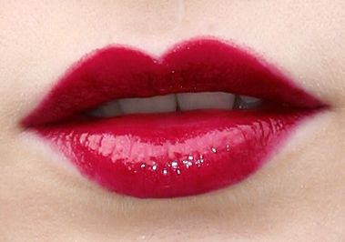 Wearing Red Lipstick: The Flapper look.  1920s makeup tutorial with UNBELIEVABLY PERFECT lips.