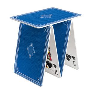 A La Carte Table Blue now featured on Fab.