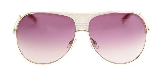 Óculos Christian Dior My Lady Dior - Óculos Aviador Dior - Lente Degradê Roxa