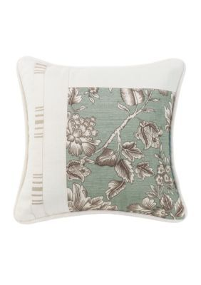 HiEnd Accents  Gramercy Square Pieced Pillow
