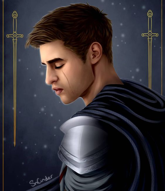 Chaol Westfall by @scinderart