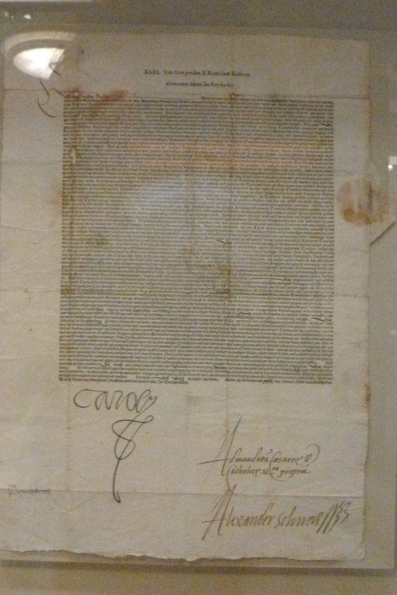 The Augsburg Confession. Wittenberg 1551. (Deutsche Historisches Museum)