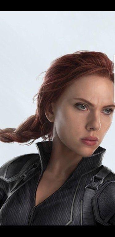 Avengers 4 Close Up Of Black Widow S New Hairstyle Black Widow Avengers Black Widow Marvel Black Widow Scarlett