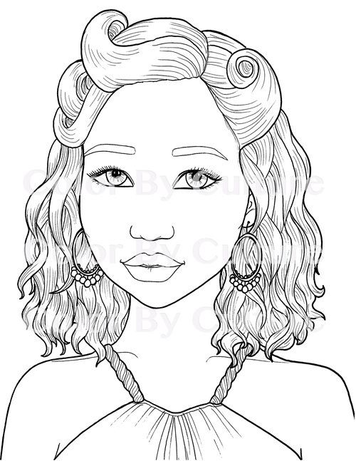I Am American Set Of 10 Color By Culture Fashion Coloring Book Coloring Pages For Girls Color