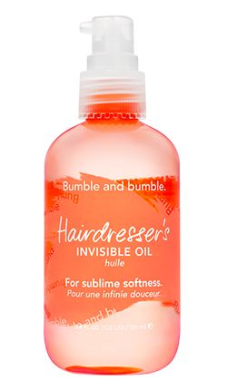 Hairdresser's invisible oil - smoothes, reduces frizz, tames flyaways, detangles, and strengthens hair against breakage.: