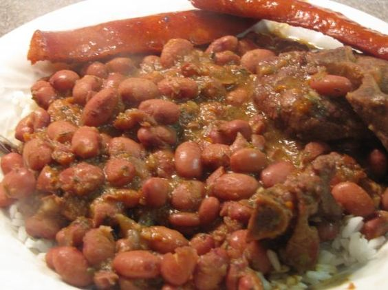 Red Beans & Rice - My Recipe. Photo by kellychris