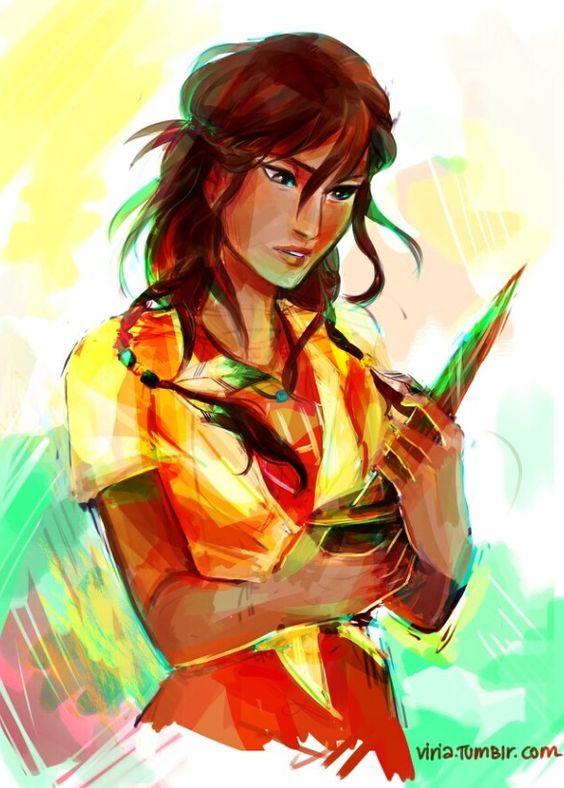 Piper McLean. {Drawn by Viria.}