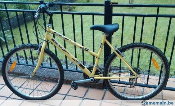 Vélo VTT pour dame ou jeune fille - A vendre