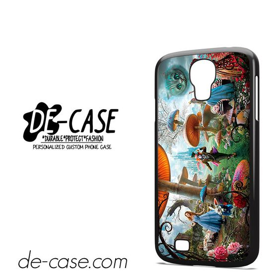 Alice In Wonderland Party DEAL-523 Samsung Phonecase Cover For Samsung Galaxy S4 / S4 Mini