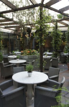 Hoxton Hotel terrasse #Londres #hotel