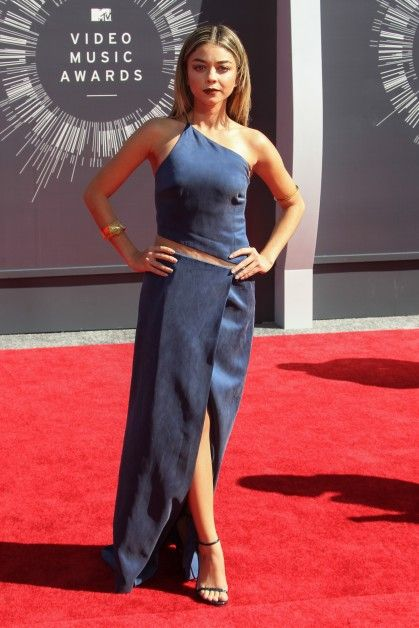 Sarah Hyland in Kaufmanfranco at the 2014 VMAs