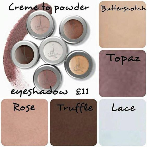Creme to powder eye shadow - £11 http://www.actiderm.co.uk/me/angela-jones