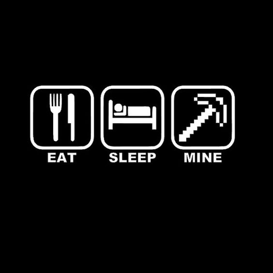 Eat Sleep Mine Kids Minecraft shirt on Etsy, $20.00