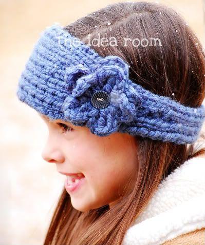 Knitting Pattern Ear Warmer Band : Ear warmers, Ears and Knits on Pinterest
