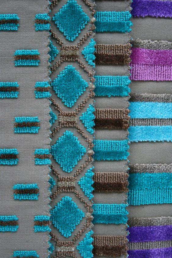 Casamance telas ideales de dibujo peque o ideal para - Tela para tapizar sillas de comedor ...