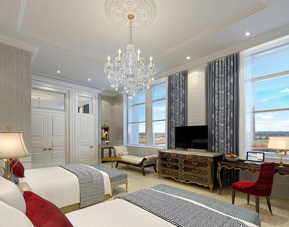 Double Guest Room At Trump International Hotel Washington Dc Alluring 2 Bedroom Hotel Suites In Washington Dc Decorating Design