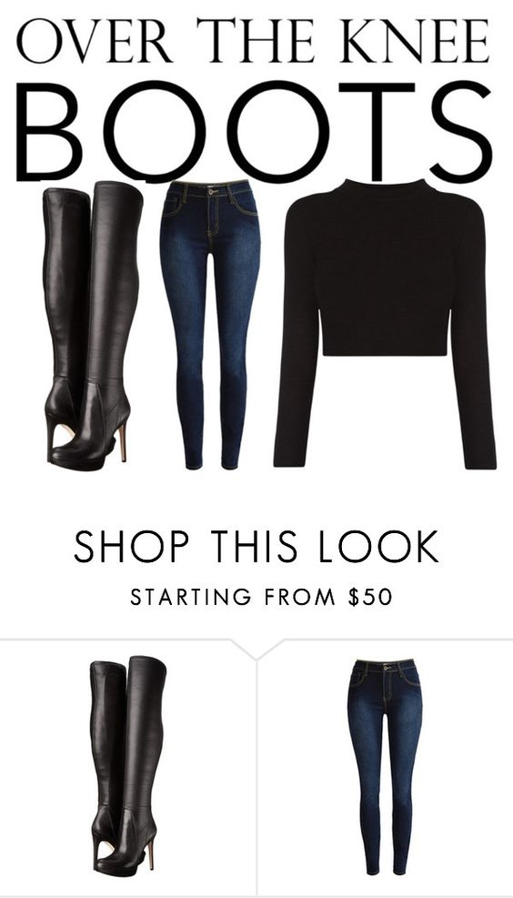 """""""Over The Knee Boots"""" by awseome-girl-5953 ❤ liked on Polyvore featuring Sam Edelman"""
