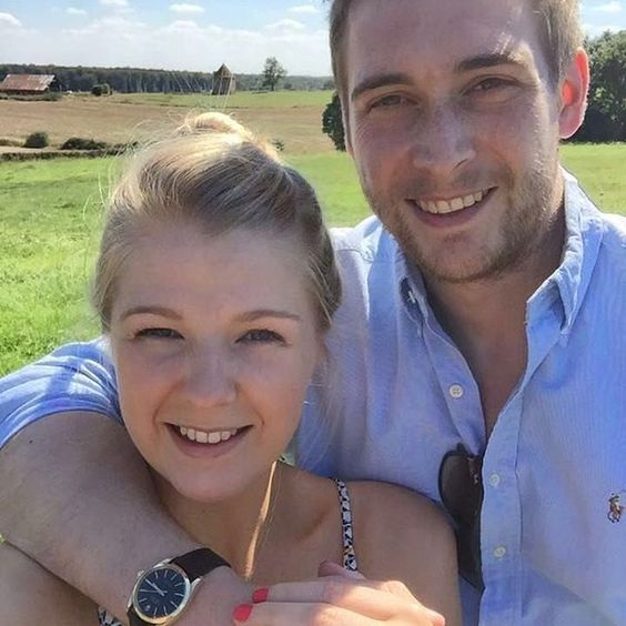 She said yes!  Loving those happy faces  Latest couple to have their rings made…