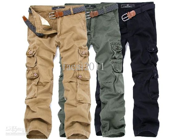 cargo pants. maybe for military style or grunge...