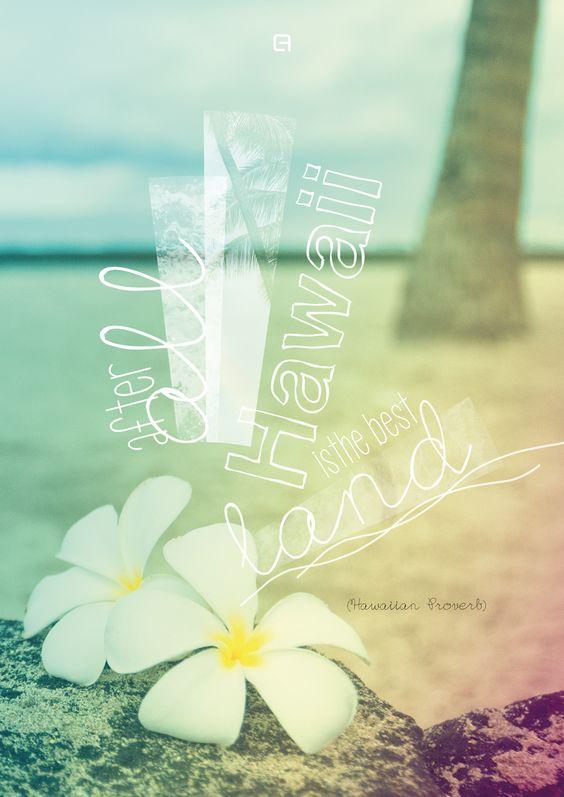 """""""After all Hawaii is the best land. (O Hawaii no ka aina maikai.)"""" (Hawaiian Proverb) #hawaii #plumeria"""