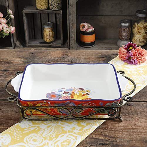 Buy The Pioneer Woman Spring Bouquet 2 Piece Ceramic Bakeware Set