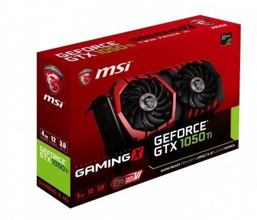 Graphics Video Cards 27386 Msi Nvidia Geforce Gtx 1050 Ti Gaming X 4gb Gddr5 Pci Express 3 0 Graphics Buy It Now Only 140 On E Graphic Card Nvidia Msi