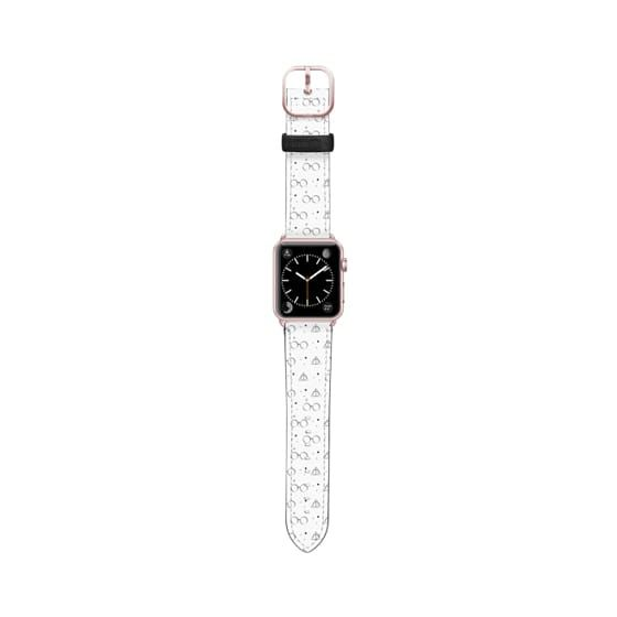 Casetify Apple Watch Band 38mm 40mm Harry Potter Pattern By Lady Pompof Apple Watch Bands Leather Apple Watch Bands Gold Apple Watch Models