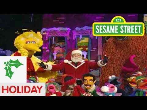 "▶ Sesame Street: Santa Song ""Believe"" - YouTube"