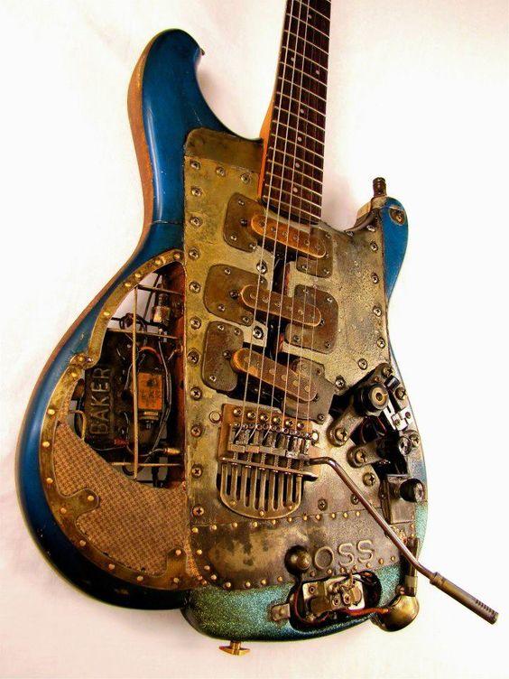 Steampunk guitar - Buscar con Google