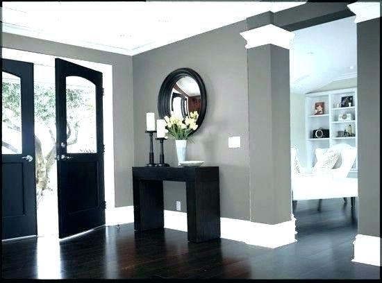 Light Wood Floors With Gray Walls Grey Walls With Wood Floors Dark Wood Floors With Dark Furniture Dark Hardwood Floor Grey Walls White Trim House Design House