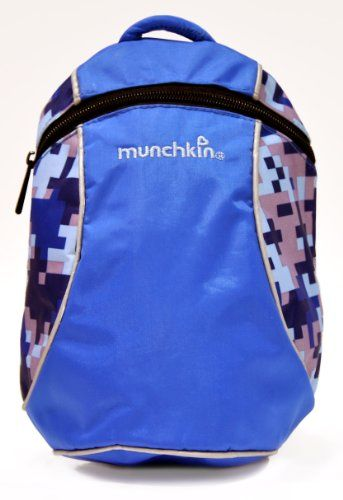 Munchkin Funpack Harness, Colors May Vary Tether strap removes for backpack use only. Backpack holds books,  toys and more. Shoulder strap and waistband adjust to fit your growing child. Interior pocket holds a cup and other small items. Colors may vary,  you may receive in one of the following colors: Blue or Pink.  #Munchkin #Baby_Product