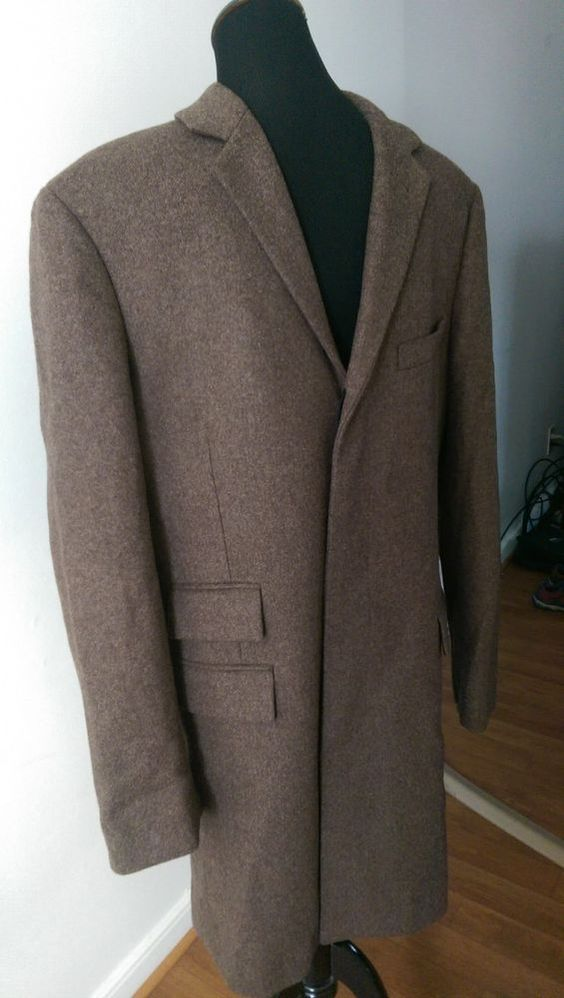 New J. Crew Mayfair topcoat Coat Jacket in English wool 99484