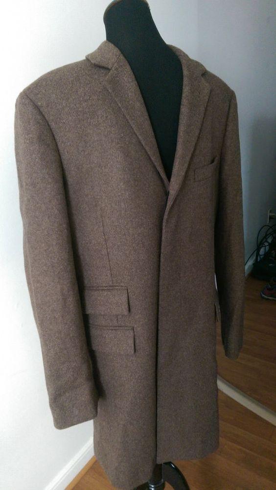 New J. Crew Mayfair topcoat Coat Jacket in English wool 99484
